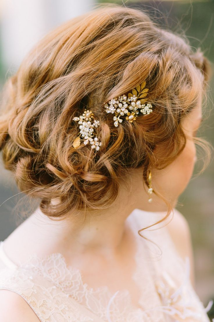 Medium Wedding Hairstyles: 35 Romantic Wedding Updos For Medium Hair