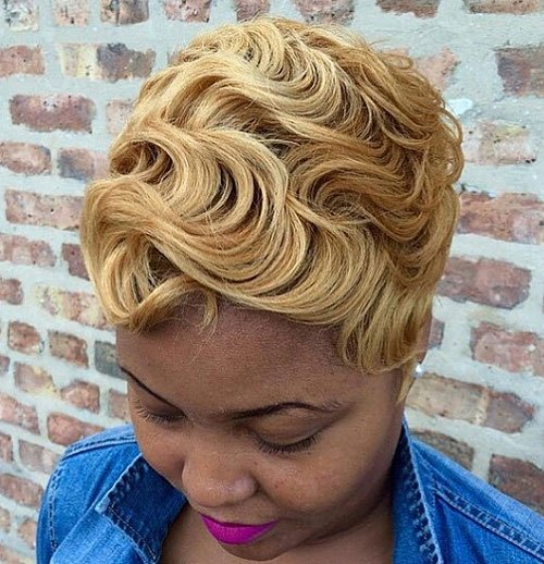 21 Trendy Short Haircuts For African American Women Hairstyles Weekly