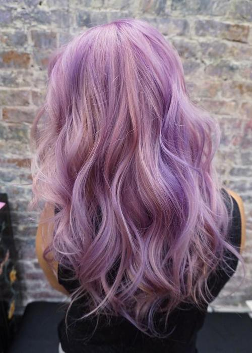 21 Cool Stylish Purple Highlighted Hair Ideas Purple Hairstyles