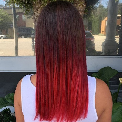 22 Hottest Red Balayage Ombre Hairstyles 2020 Hairstyles