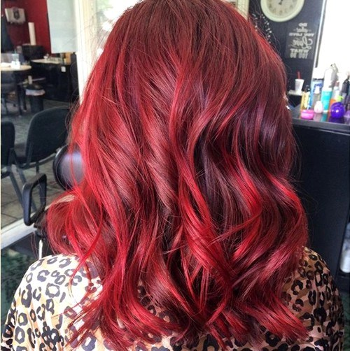 22 Hottest Red Balayage Amp Ombre Hairstyles 2020