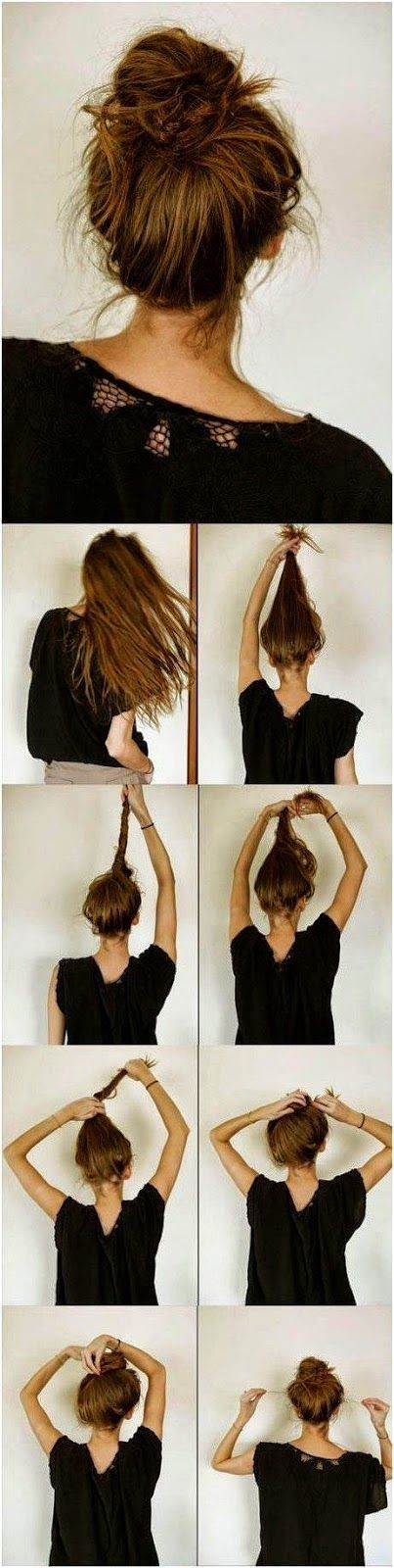 How To Wear A Messy Bun With Tutorials Hairstyles Weekly
