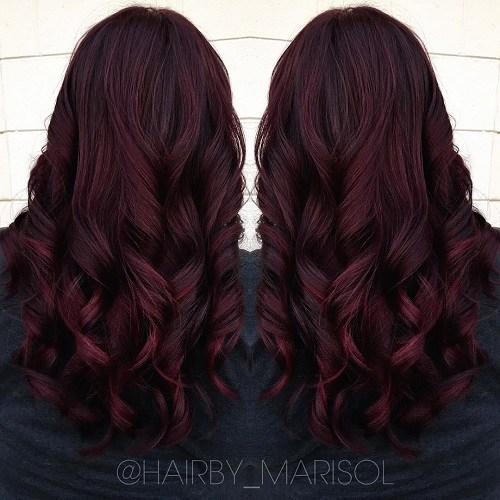 21 Hottest Mahogany Hair Color Ideas For Short Medium And Long Hair