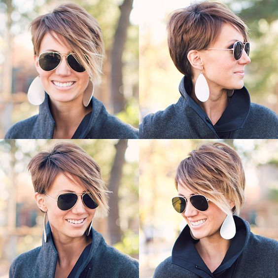 22 Amazing Long Pixie Haircuts for Women - Daily Short Hairstyles 2018