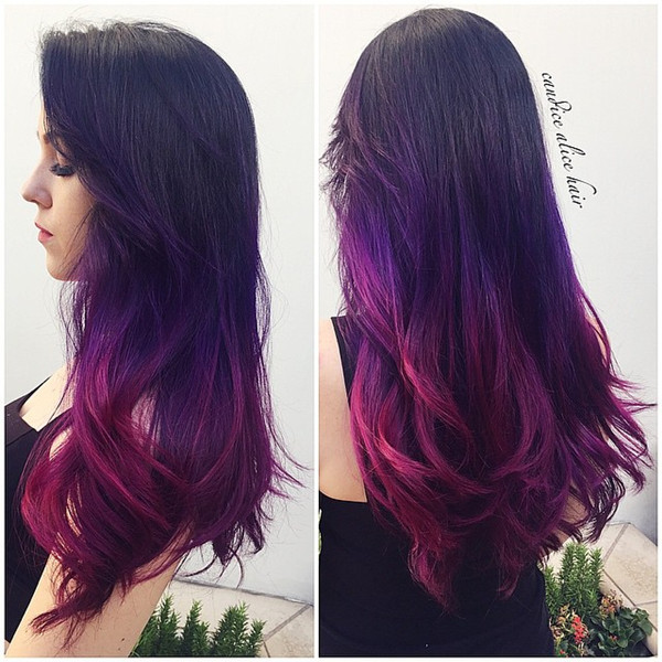 25 Amazing Purple Ombre And Lavender Ombre Hairstyles Hairstyles