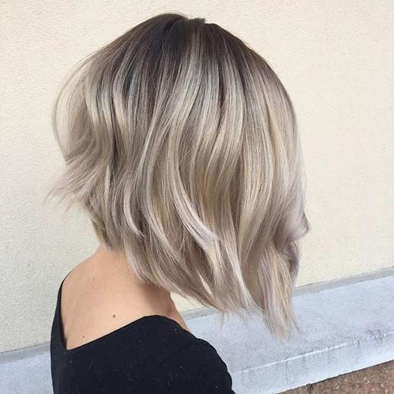 how to cut a long graduated bob