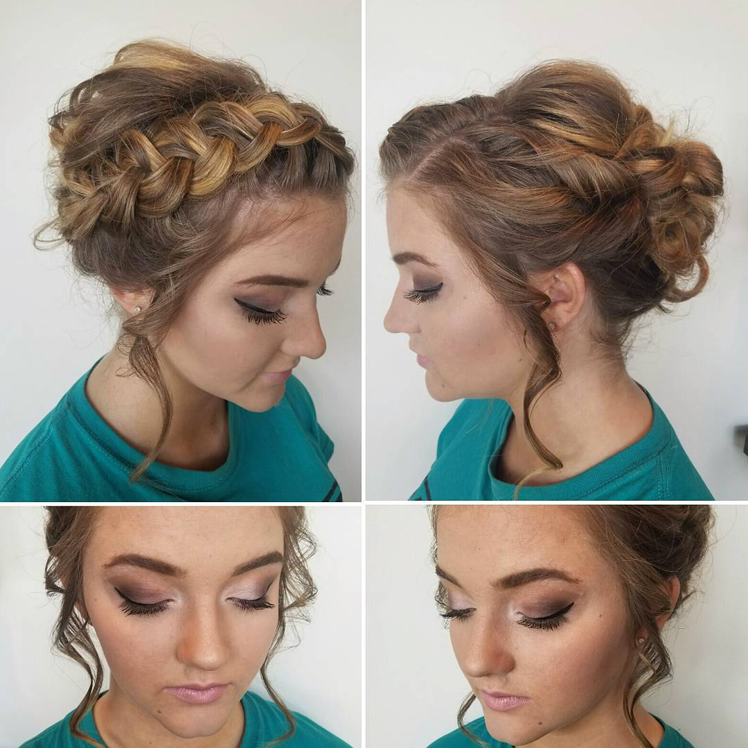20 hottest prom hairstyles for short  medium hair 2021