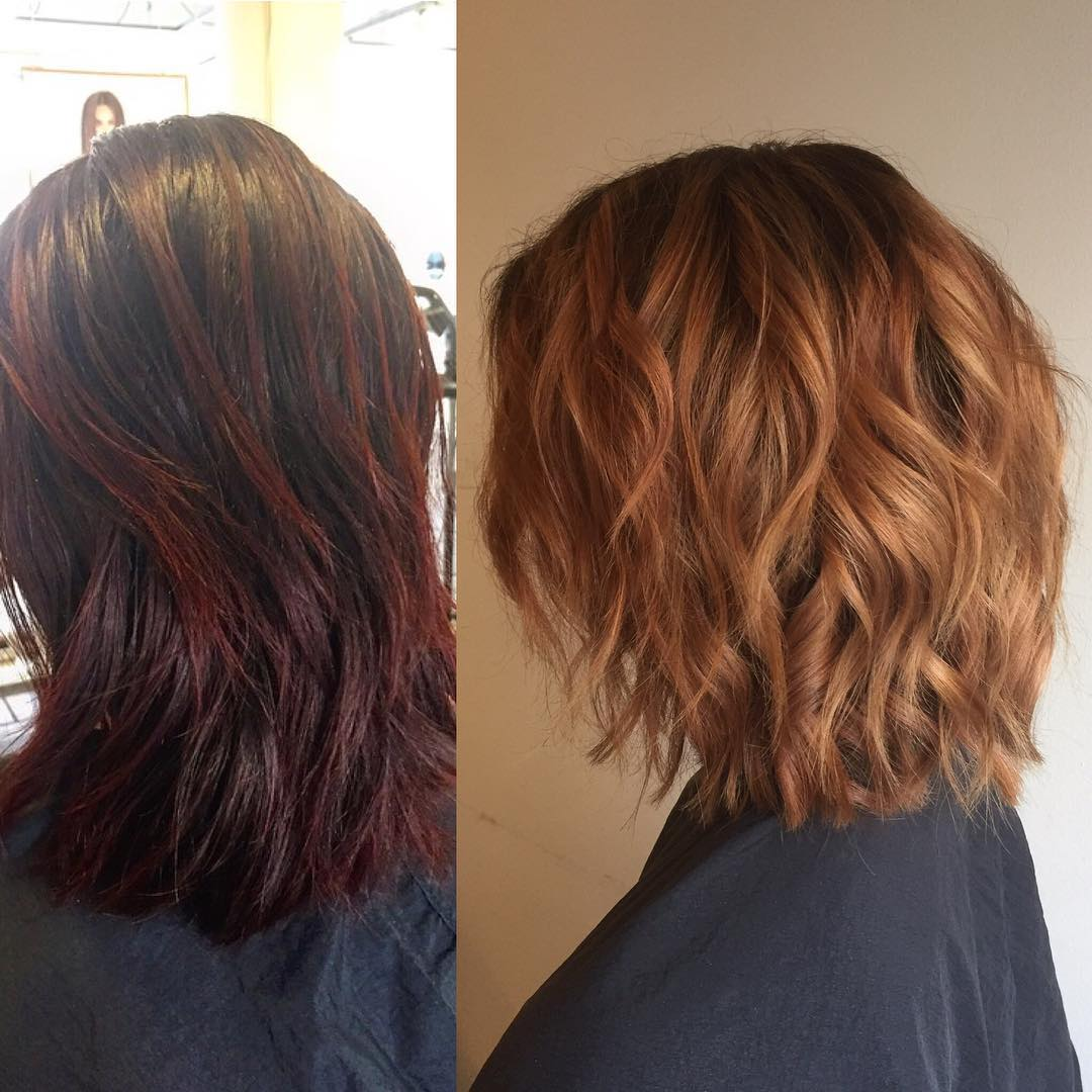 10 Exciting Medium-Length Layered Haircuts in Fab New Colors!