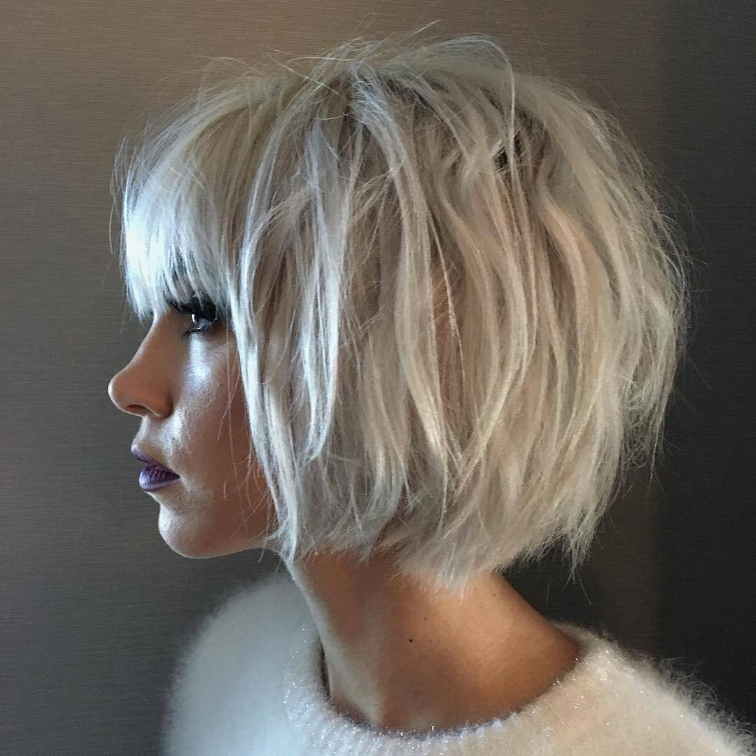 10 Gorgeous Hair Color Ideas For Short Haircuts Hairstyles Weekly