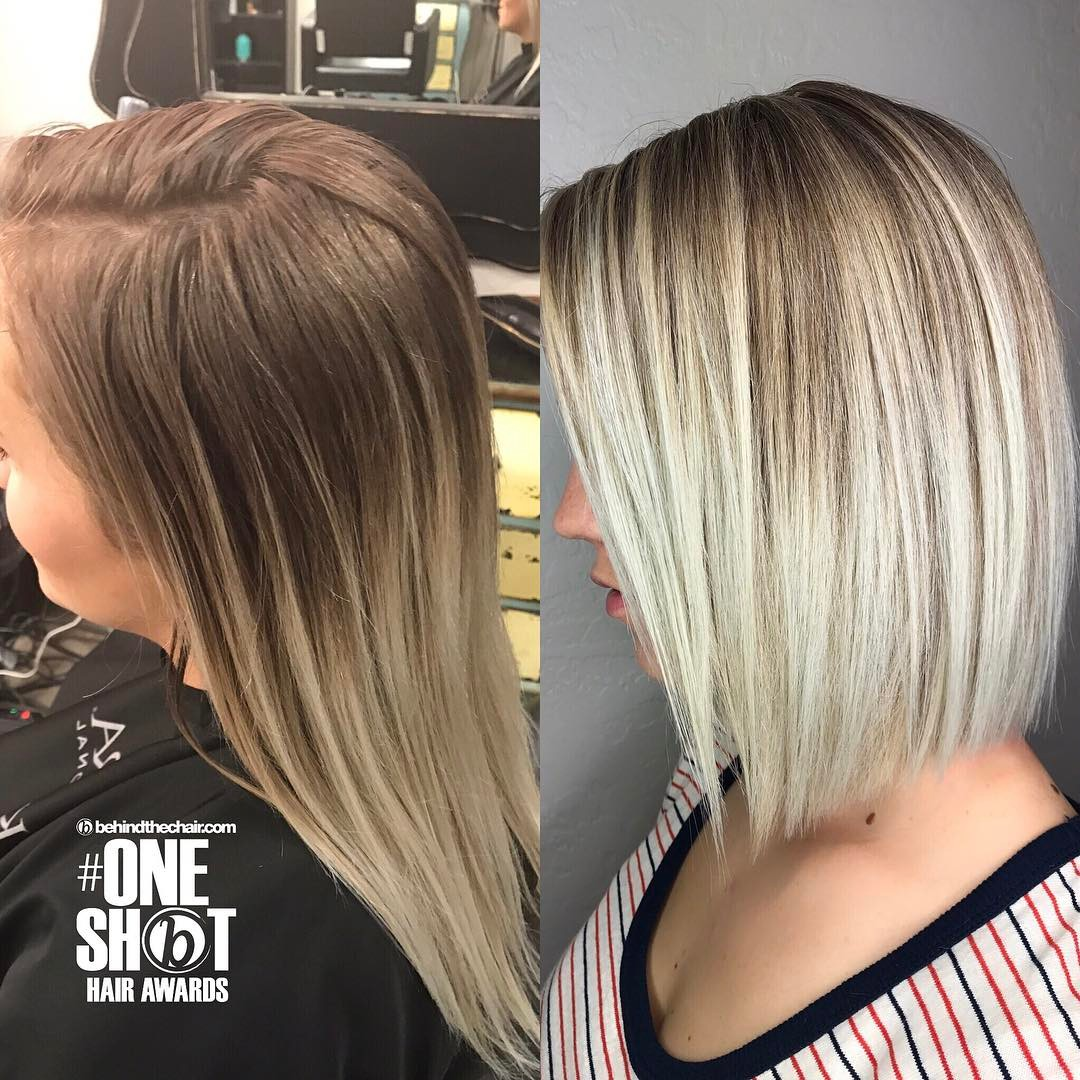 Light Blonde Hair With Dark Roots