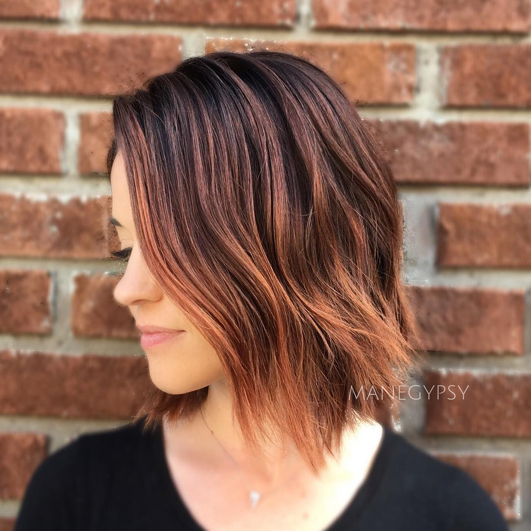 Hair Color And Style Ideas Pictures: 30 Best Balayage Hairstyles For Short Hair 2018