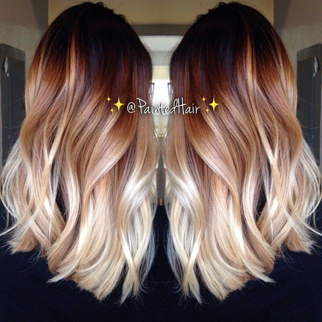 36 Two Tone Hair Color Ideas For Short Medium Long Hair Two Tone