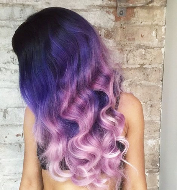 25 Amazing Two-tone Hair Styles & Trendy Hair Color Ideas 2018