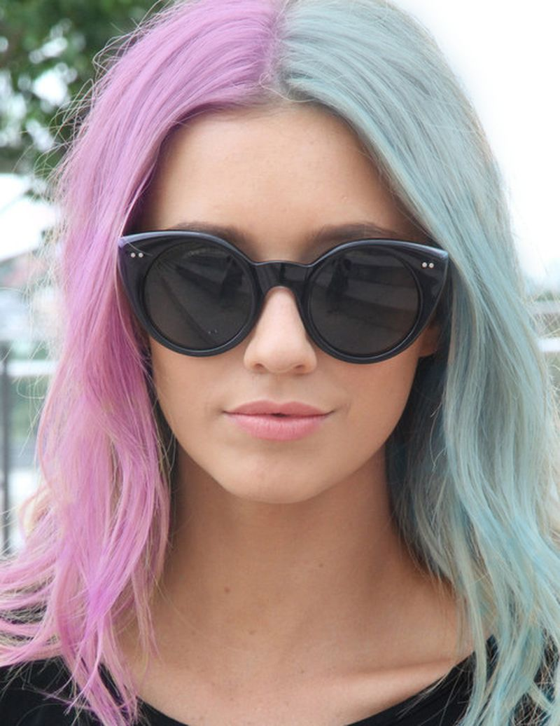 two hair color styles 25 amazing two tone hair styles amp trendy hair color ideas 2989 | 14 cool two tone hair styles trendy hair color ideas 1 5