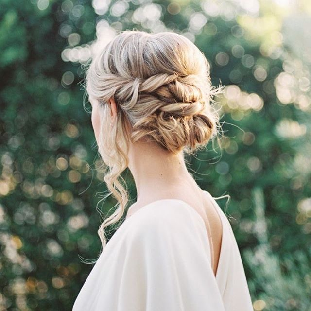 30 Romantic Messy Updos For Wedding 2020 Best Wedding