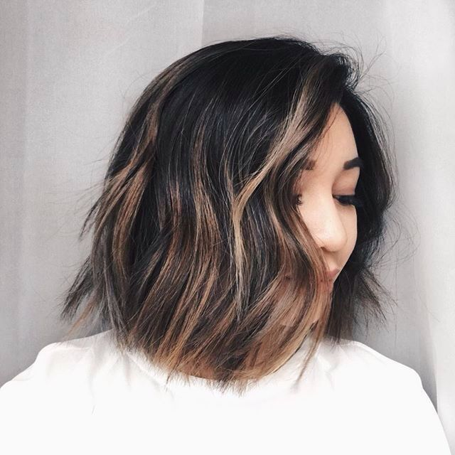 50 Hottest Balayage Hairstyles for Short Hair , Balayage