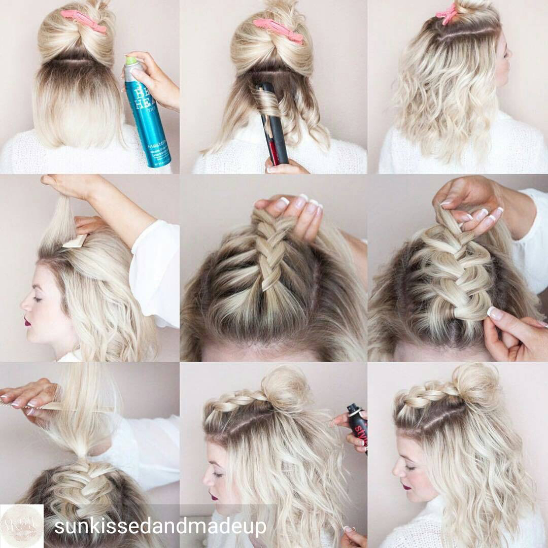 20 Fabulous Half Up Half Down Hairstyles Easy Step By Step