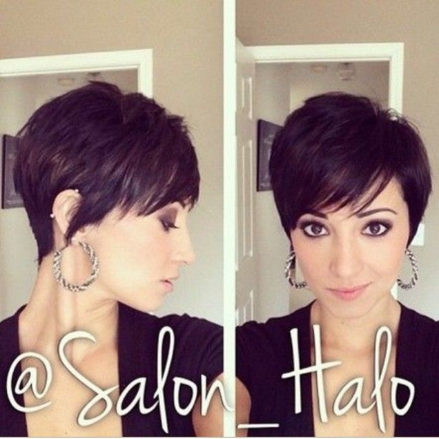 Hottest Short Wavy Curly Pixie Haircuts Pixie Cuts For - Styling curly pixie