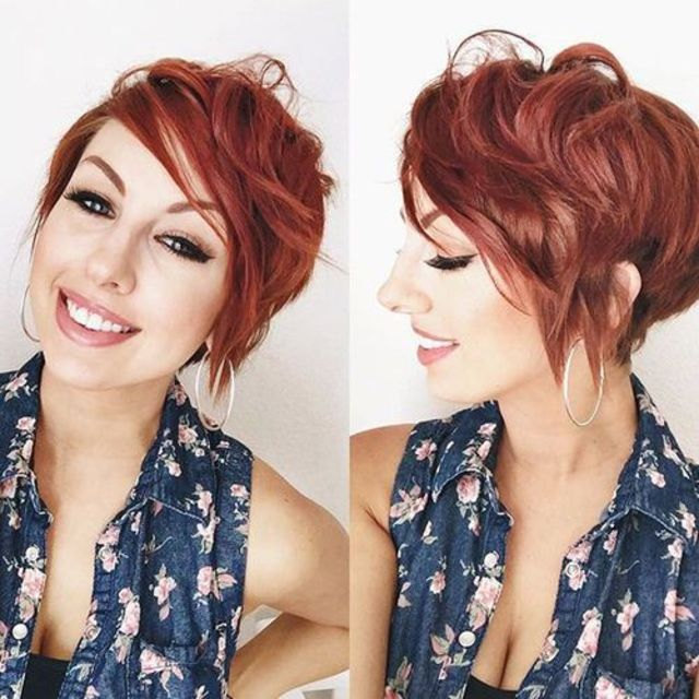 40 Hottest Short Wavy, Curly Pixie Haircuts 2020 - Pixie