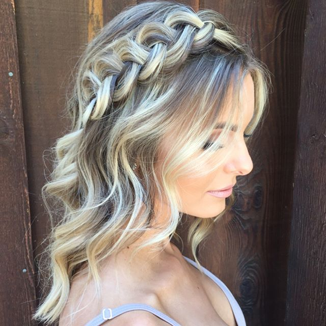 Wedding Hairstyles For Medium Hair Side 35 Romantic Wed...