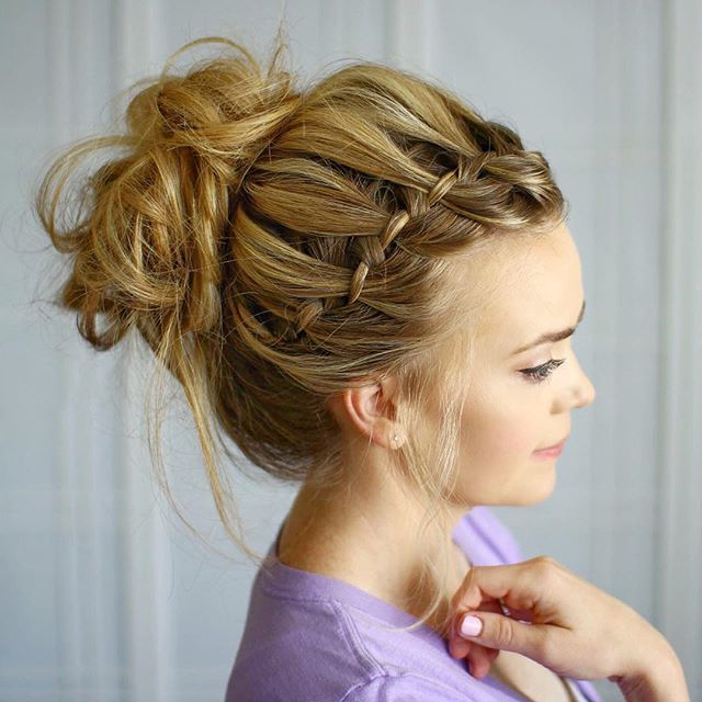 35 Romantic Wedding Updos For Medium Hair