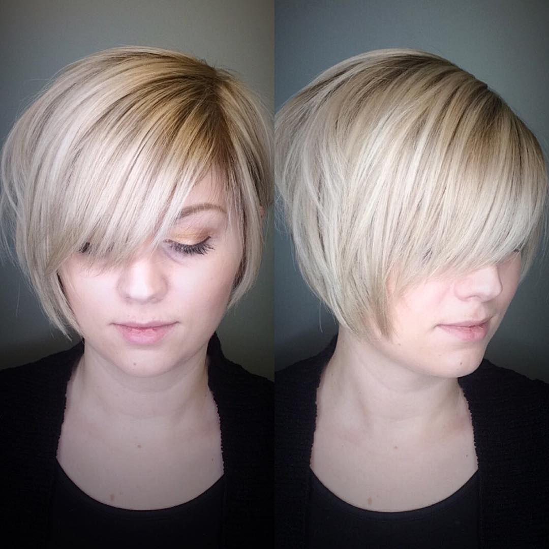 20 Most Flattering Bob Hairstyles for Round Faces