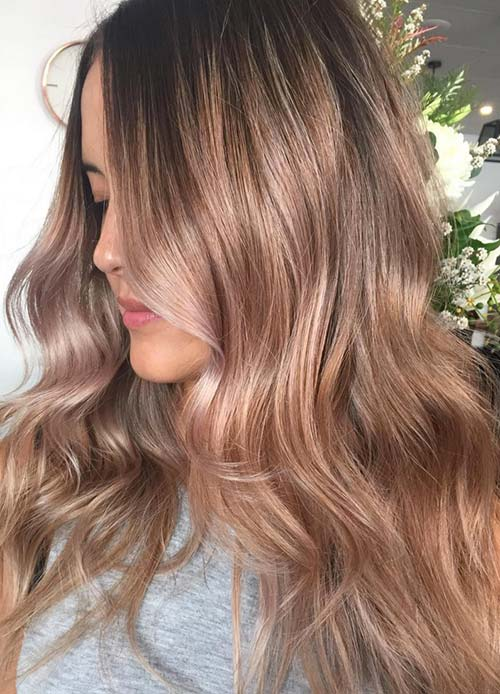 30 Trendy Hairstyles For Fall Stylish Fall Hair Color