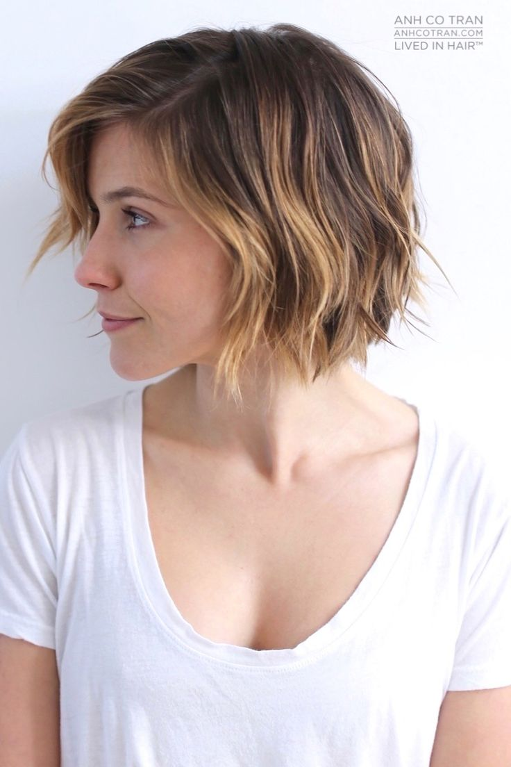 Short Hairstyles 2017 2018: 40 Choppy Bob Hairstyles 2019: Best Bob Haircuts For Short