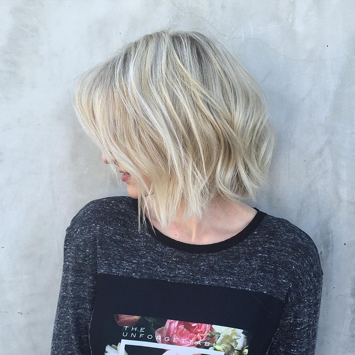 40 Choppy Bob Hairstyles 2019 Best Bob Haircuts For Short
