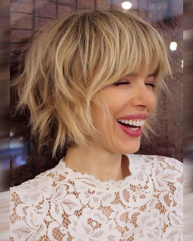 40 Amazing Choppy Bob Hairstyles For Short Medium Hair 2018