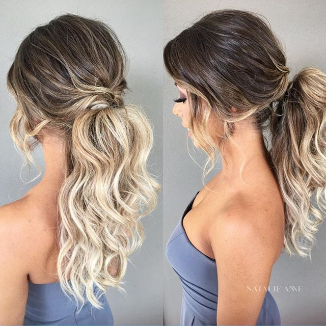 Wedding Hairstyle Ponytail: 50 Pretty Easy Messy Ponytail Hairstyles You Can Try