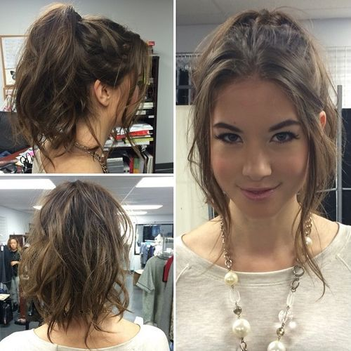 Terrific 50 Pretty Easy Messy Ponytail Hairstyles You Can Try Hairstyles Natural Hairstyles Runnerswayorg