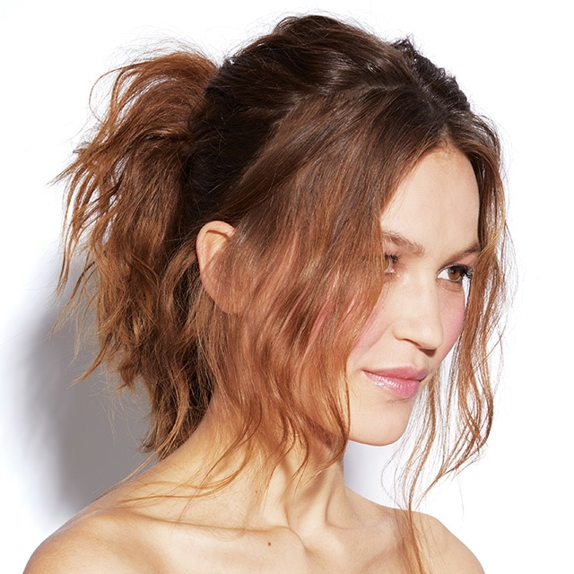 25 Pretty Easy Messy Ponytail Hairstyles You Can Try