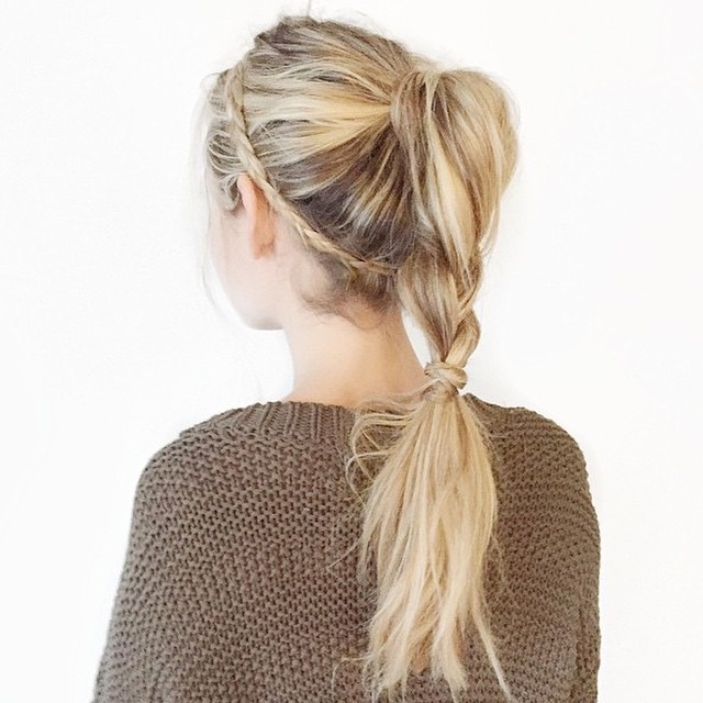 50 Pretty Easy Messy Ponytail Hairstyles You Can Try - Hairstyles Weekly