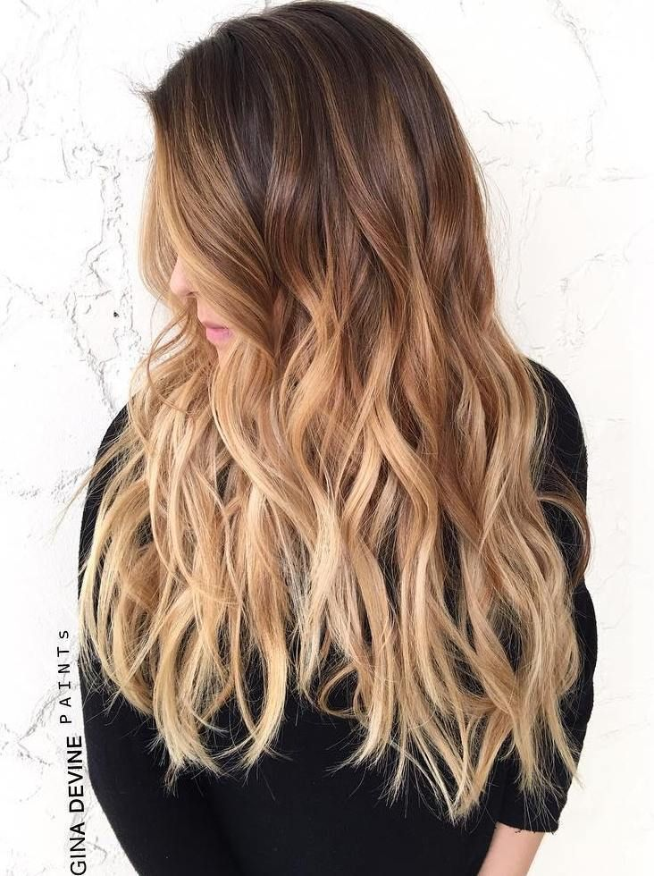 50 ombre hairstyles for women ombre hair color ideas 2019 - Ombre braun blond ...