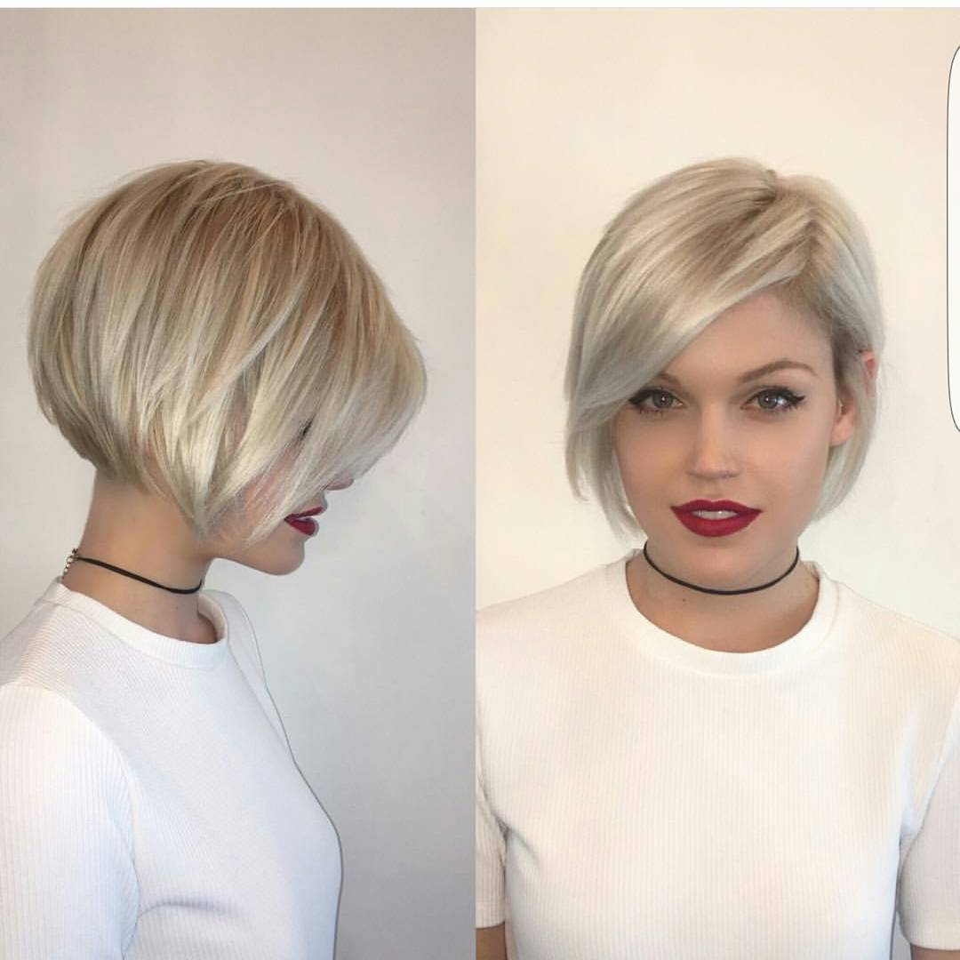 Bob Haircut 2018 Fine Hair Wavy Haircut
