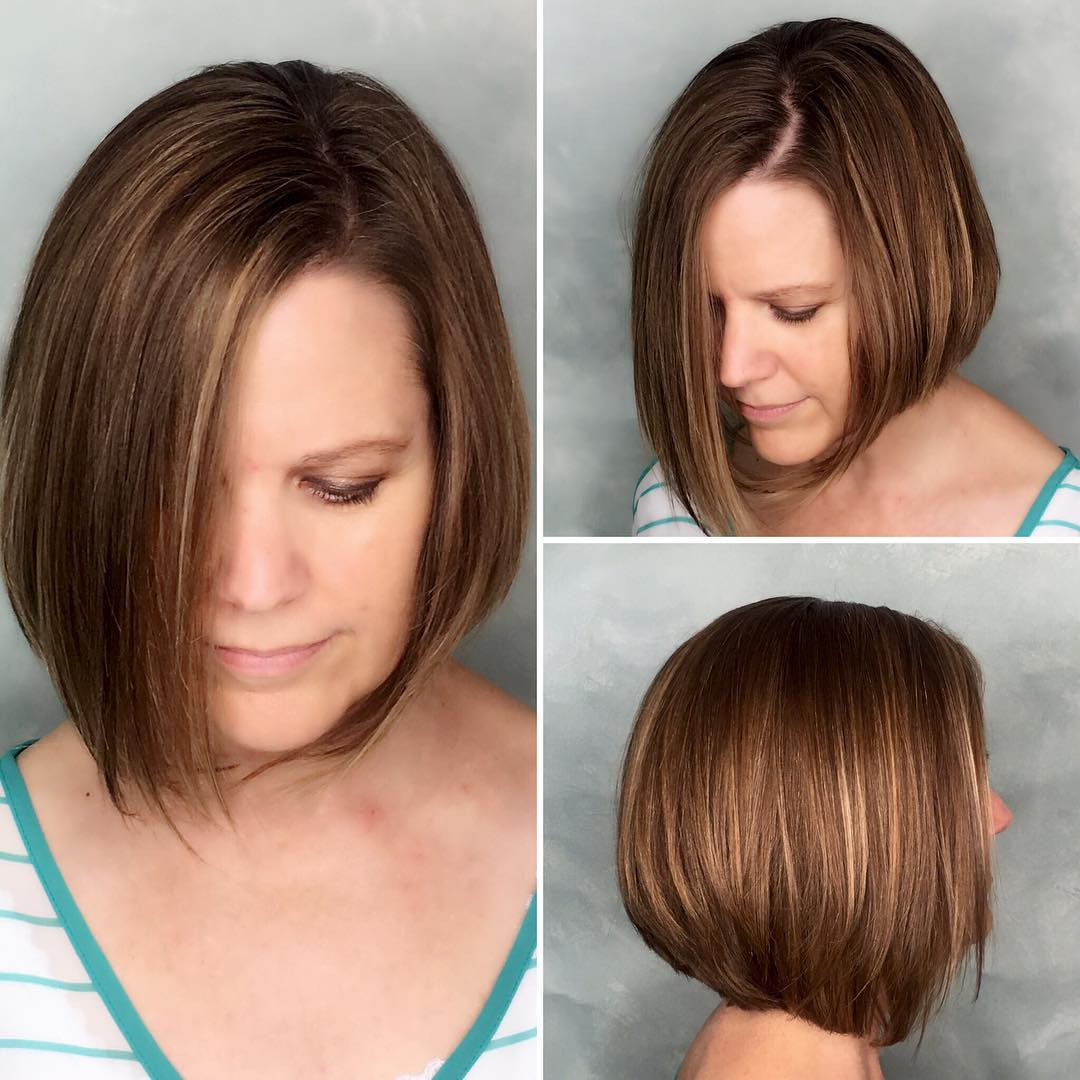 40 Most Flattering Bob Hairstyles For Round Faces 2019 Hairstyles