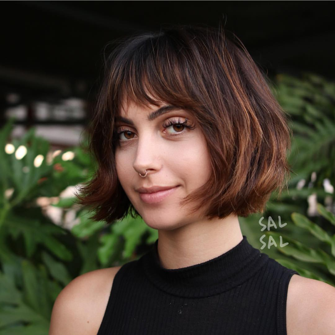 ... 40 Most Flattering Bob Hairstyles for Round Faces 2018 ...