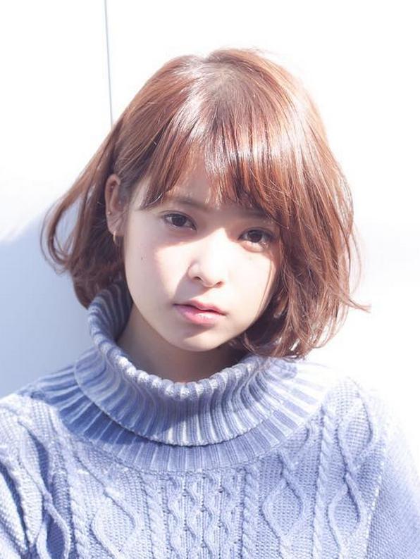cute short haircuts  asian girls  chic short 596 x 794 · png