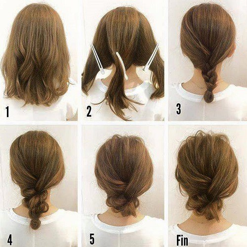 21 Simple Hair Tutorials for Medium & Long Hair - Hairstyle ...