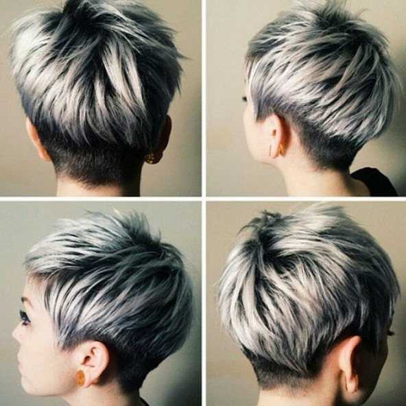 20 Trendy Silver Gray Hair Color Ideas For 2021 Hairstyles Weekly