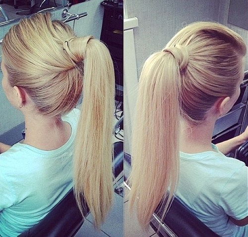 20 Everyday Ponytail Hairstyles - Simple Easy Ponytails 2017