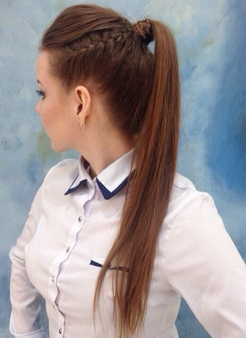 20 Everyday Ponytail Hairstyles - Simple Easy Ponytails 2020 - Hairstyles Weekly