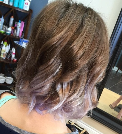 20 Ravishing Lavender Ombre Hair Ideas To Wow This Season Hairstyles Weekly