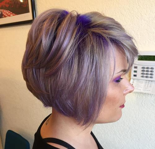 20 Sassy Purple Highlighted Hairstyles Hairstyles Weekly