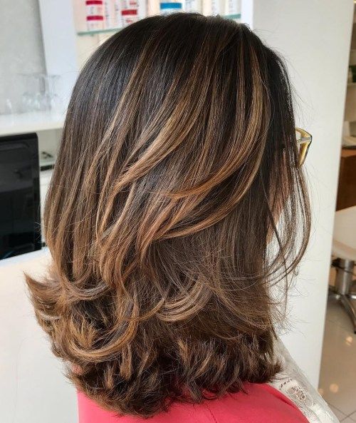 10 Best Medium Length Layered Hairstyles 2019