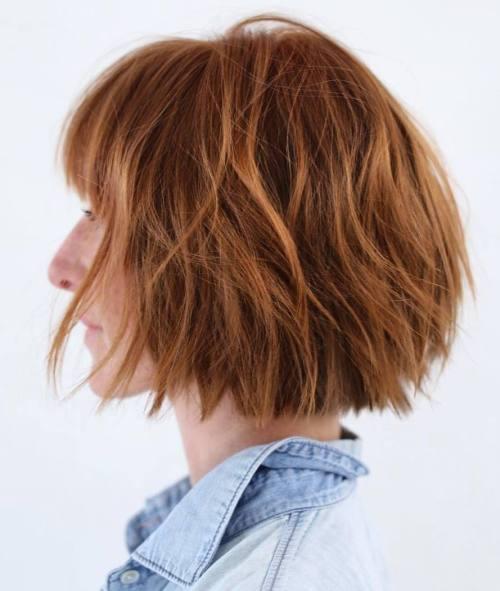 20 Hottest Choppy Bob Ideas for Your Next Short Hair Look