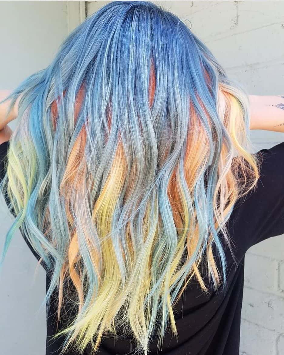 11 Ultra Bright Hair Color Ideas For Women 2021 Hairstyles Weekly