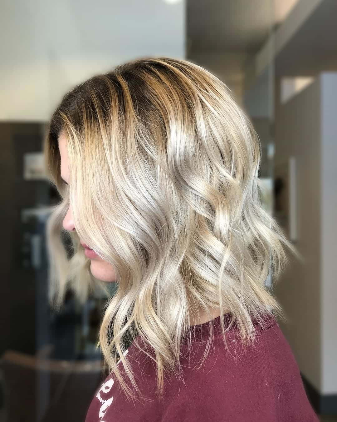 9 Lovely Lob Haircuts with Balayage