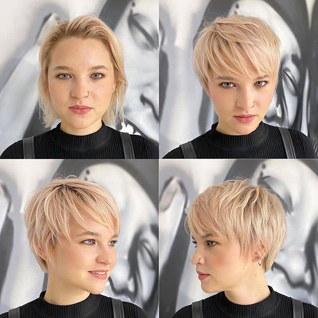 24 Flattering Short Hairstyles with Bangs